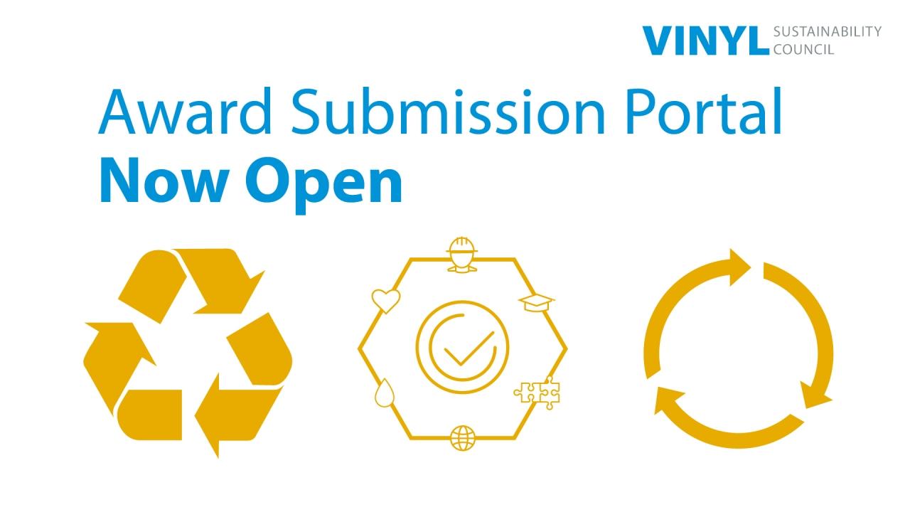 VSC Award submission portal graphic