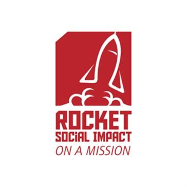 Rocket social impact logo