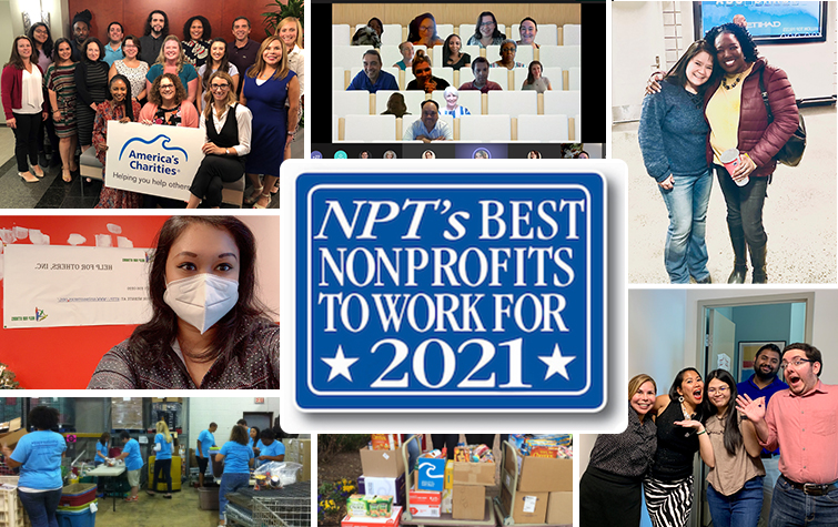 Best Nonprofit to work for award image