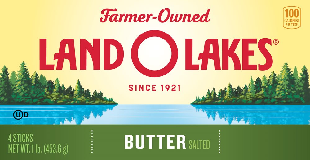 Land O'Lakes farmer-owned cooperative packaging