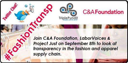 C&A Foundation Twitter chat