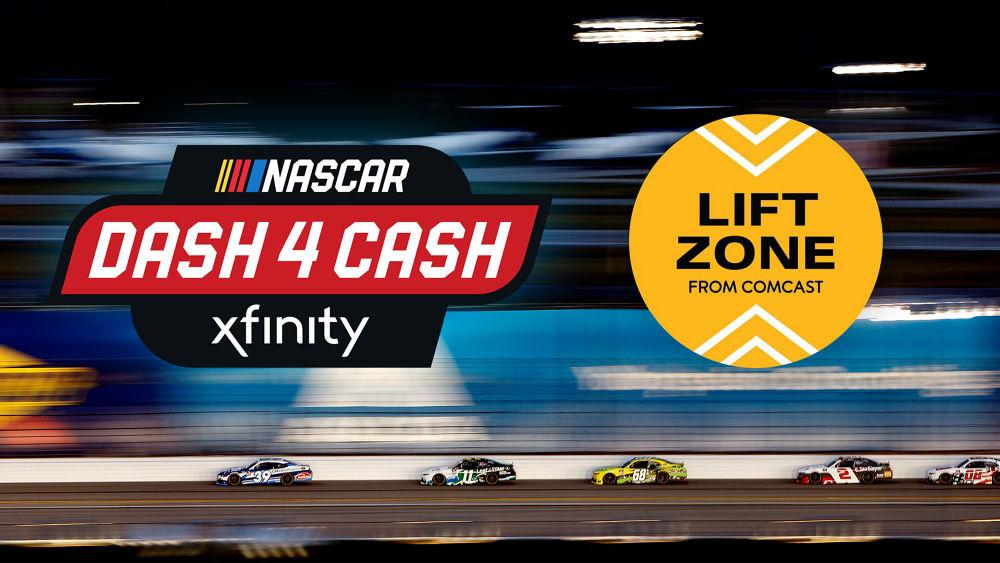 corporate nascar dash 4 cash lift zone