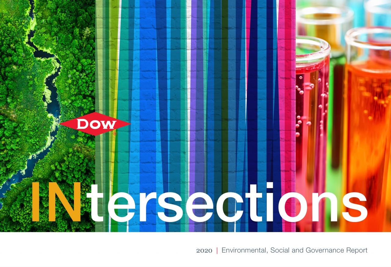 DOW ESG Report cover 2020