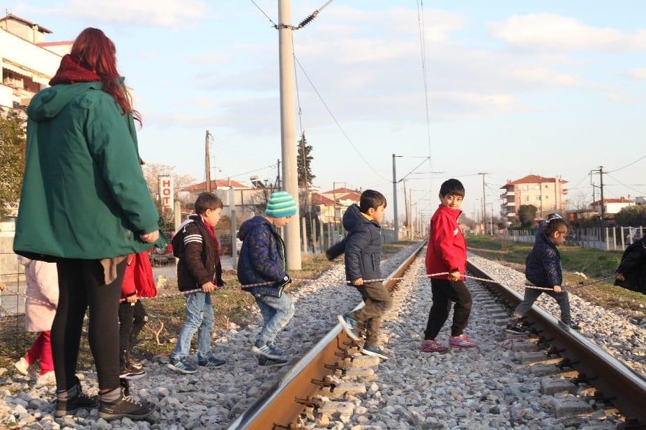 Refugee children in Greece. Photo Source: Migracode