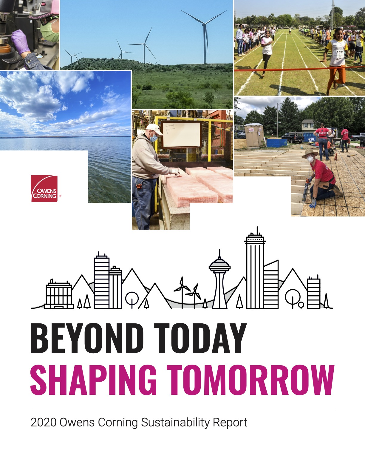 Owens Corning 2020 Sustainability Report Cover