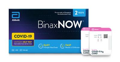 BinaxNOW test