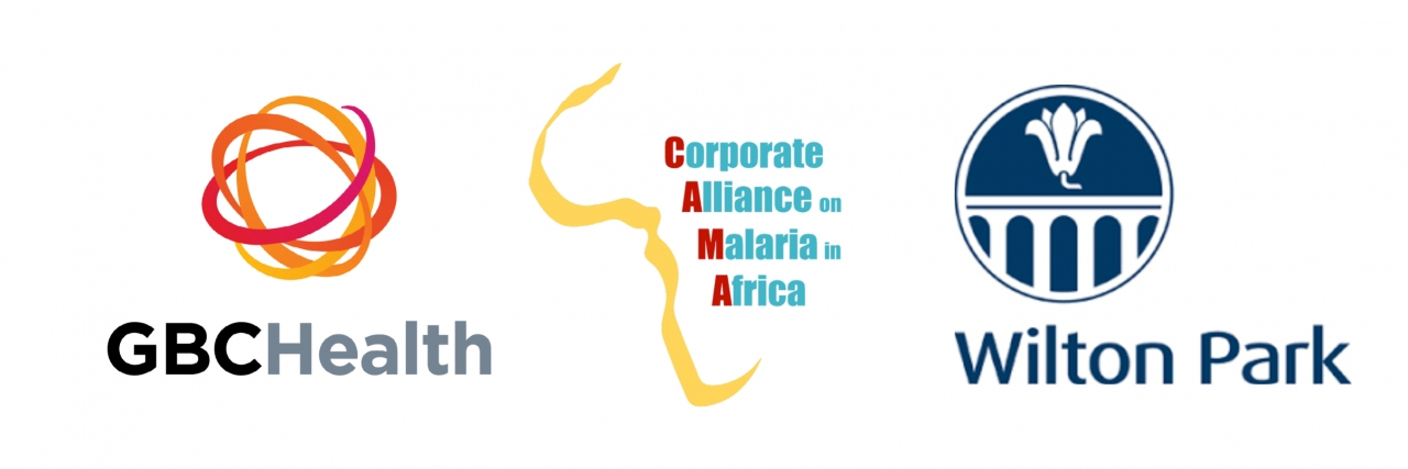 End malaria logo spread