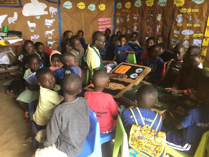 Children on the Edge supports refugee communities in Kyaka II, providing quality Early Childhood Education