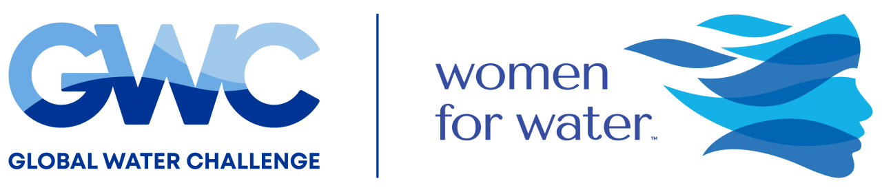 GWC and women for water logos