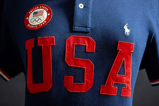 Team USA polo.