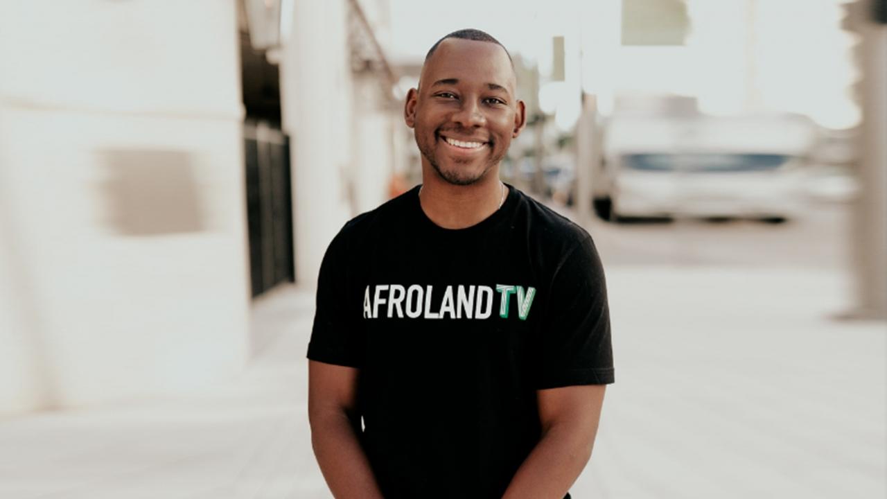 Michael Maponga, Founder of AfrolandTV