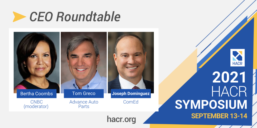 HACR announces Lineup for its Flagship Forum: The 2021 CEO Roundtable