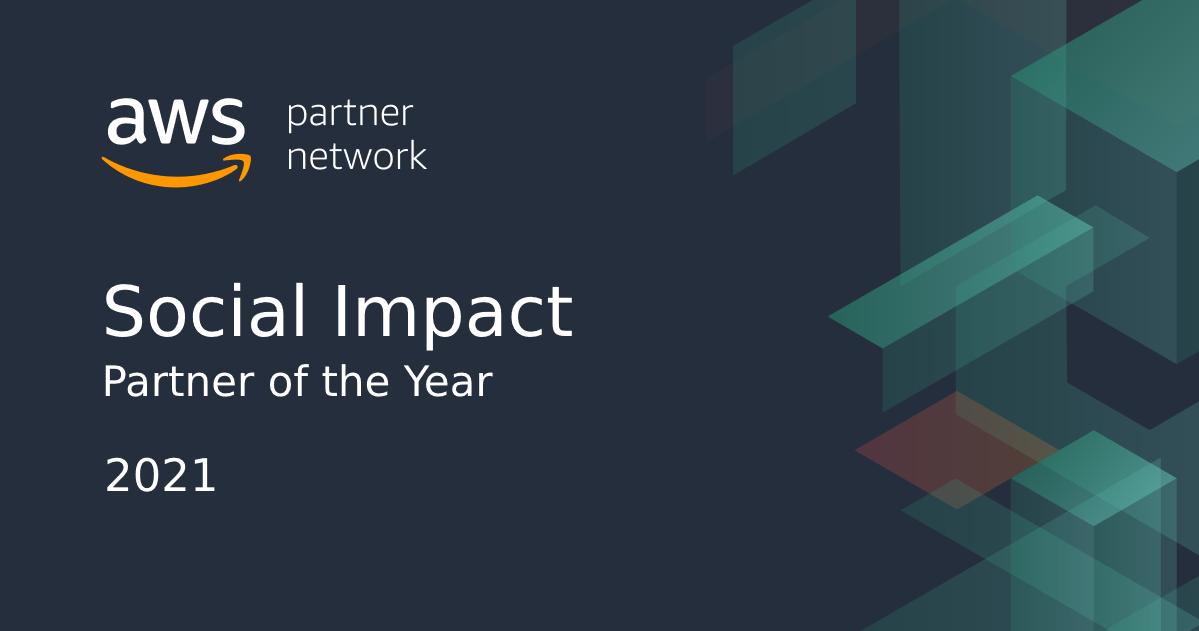 AWS award graphic 2021