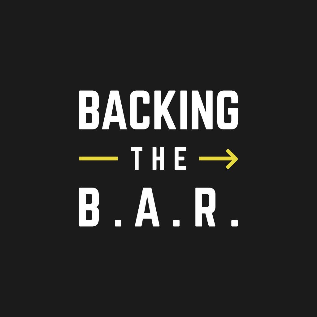Backing the bar logo