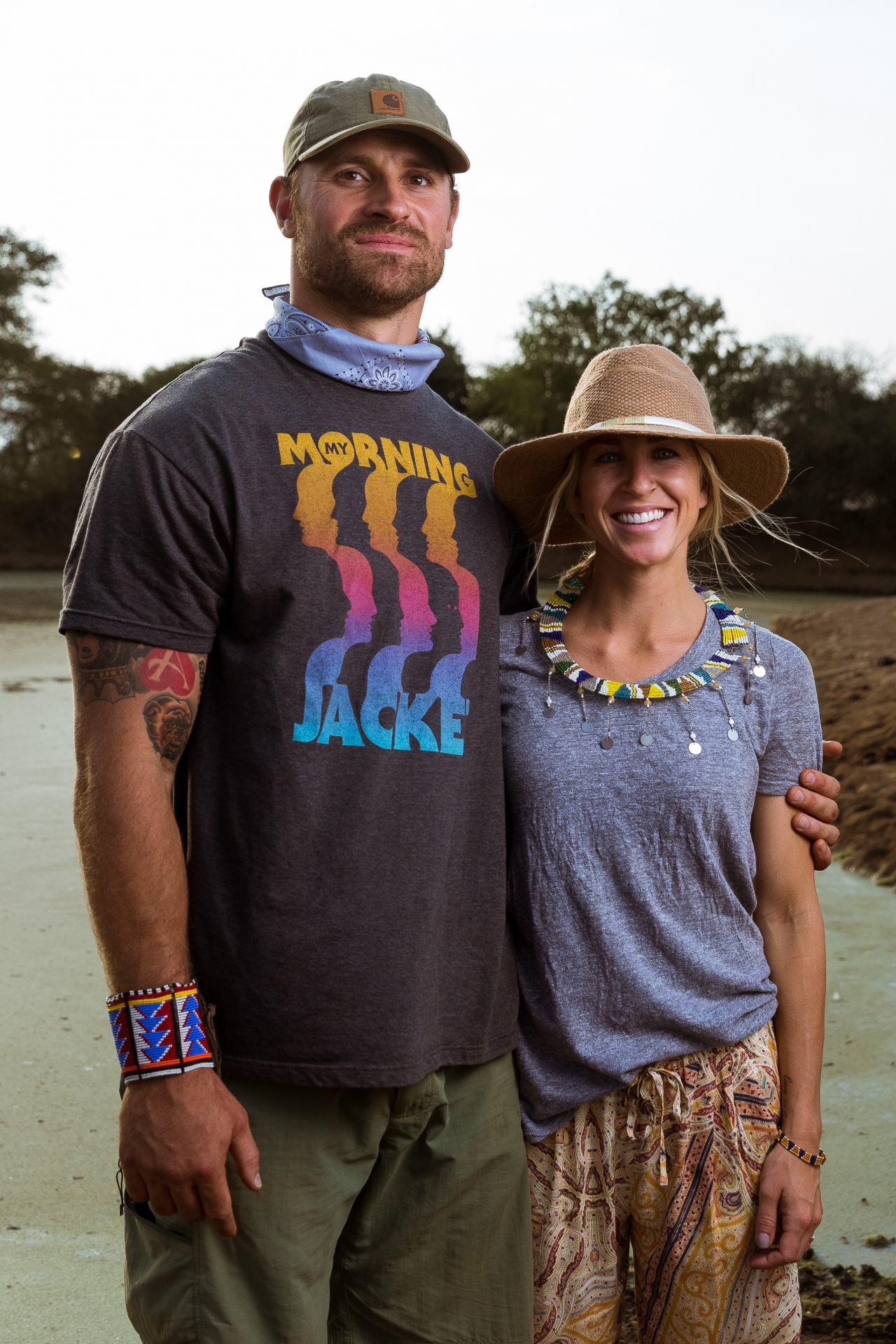 Chris and Megan Long, Co-founders of The Chris Long Foundation