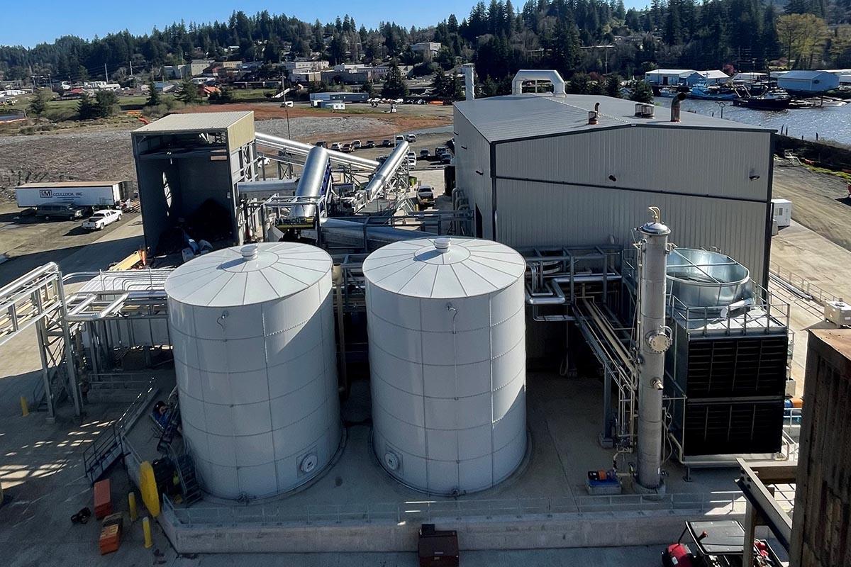 Juno technology unit at the company's Toledo, Ore. plant