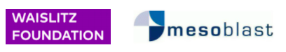 Waislitz Foundation and Mesoblast logos