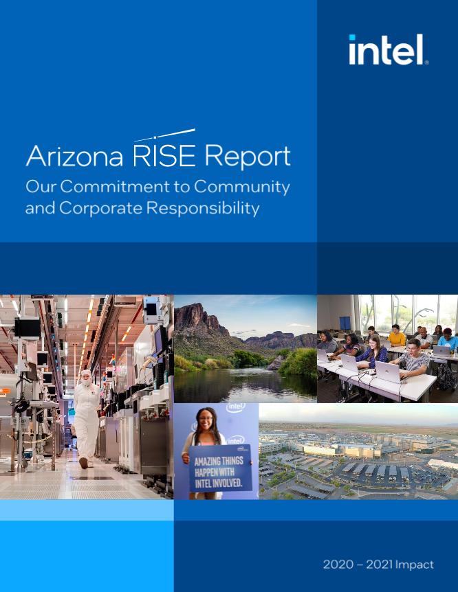 Intel Arizona RISE Report Cover
