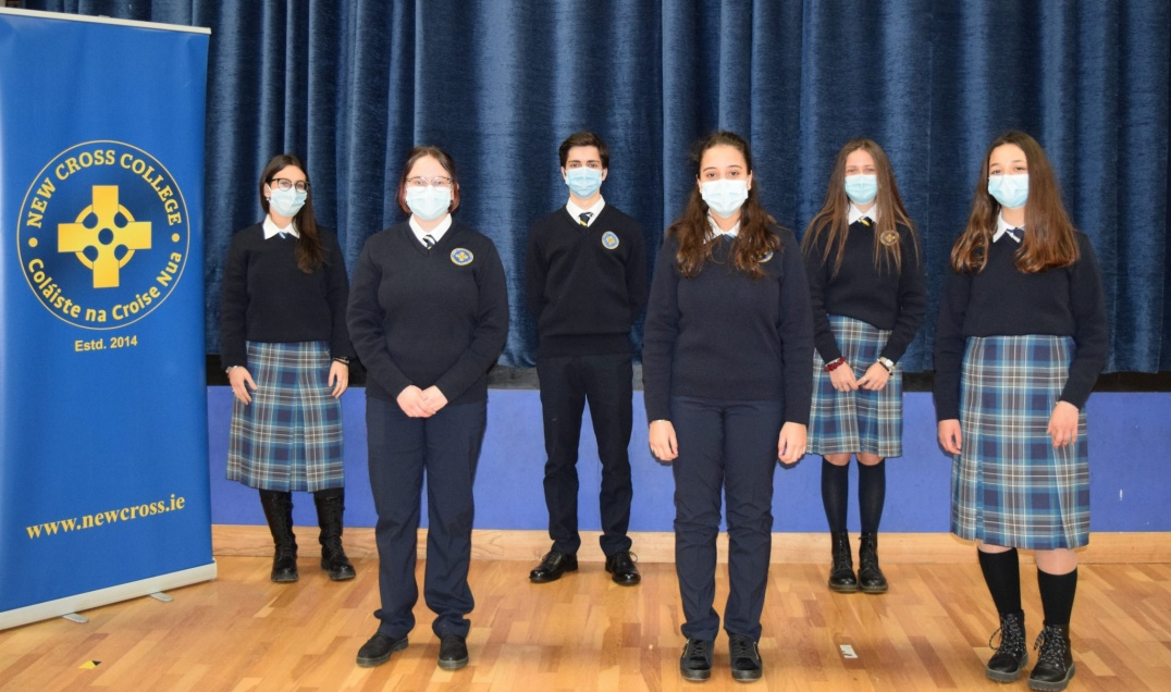 Students at New Cross College, photo credit: https://www.newcross.ie/