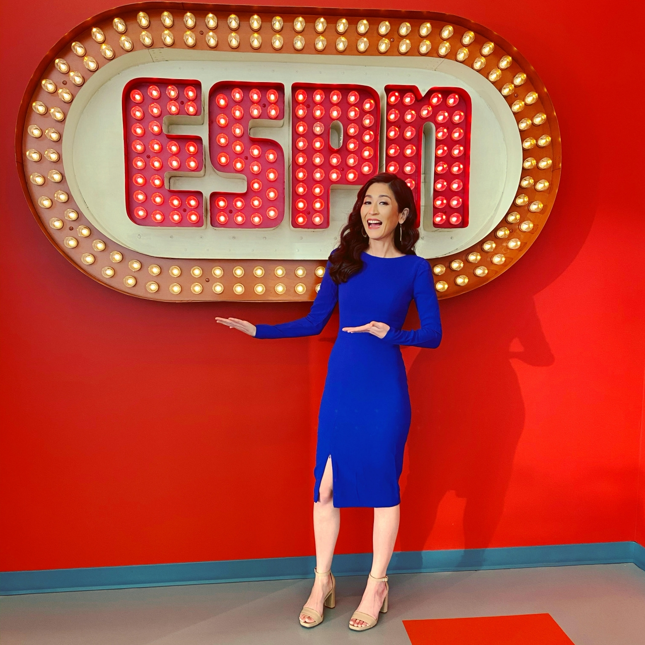 water4Her Sports Host and Broadcaster Ambassador Mina Kimes - ESPN contributor, award-winning journalist, NFL analyst, senior writer, podcast host and television contributor