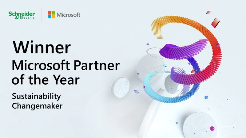 Microsoft partner of the year graphic