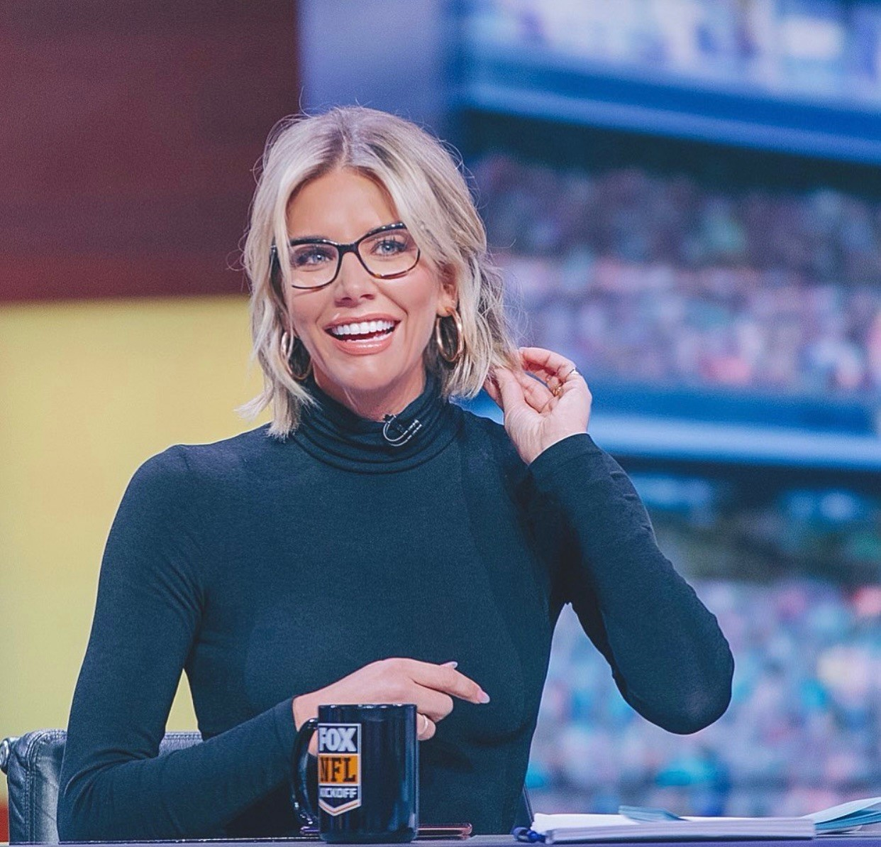 water4Her Sports Host and Broadcaster Ambassador Charissa Thompson - FOX NFL KICKOFF Host and Broadcaster
