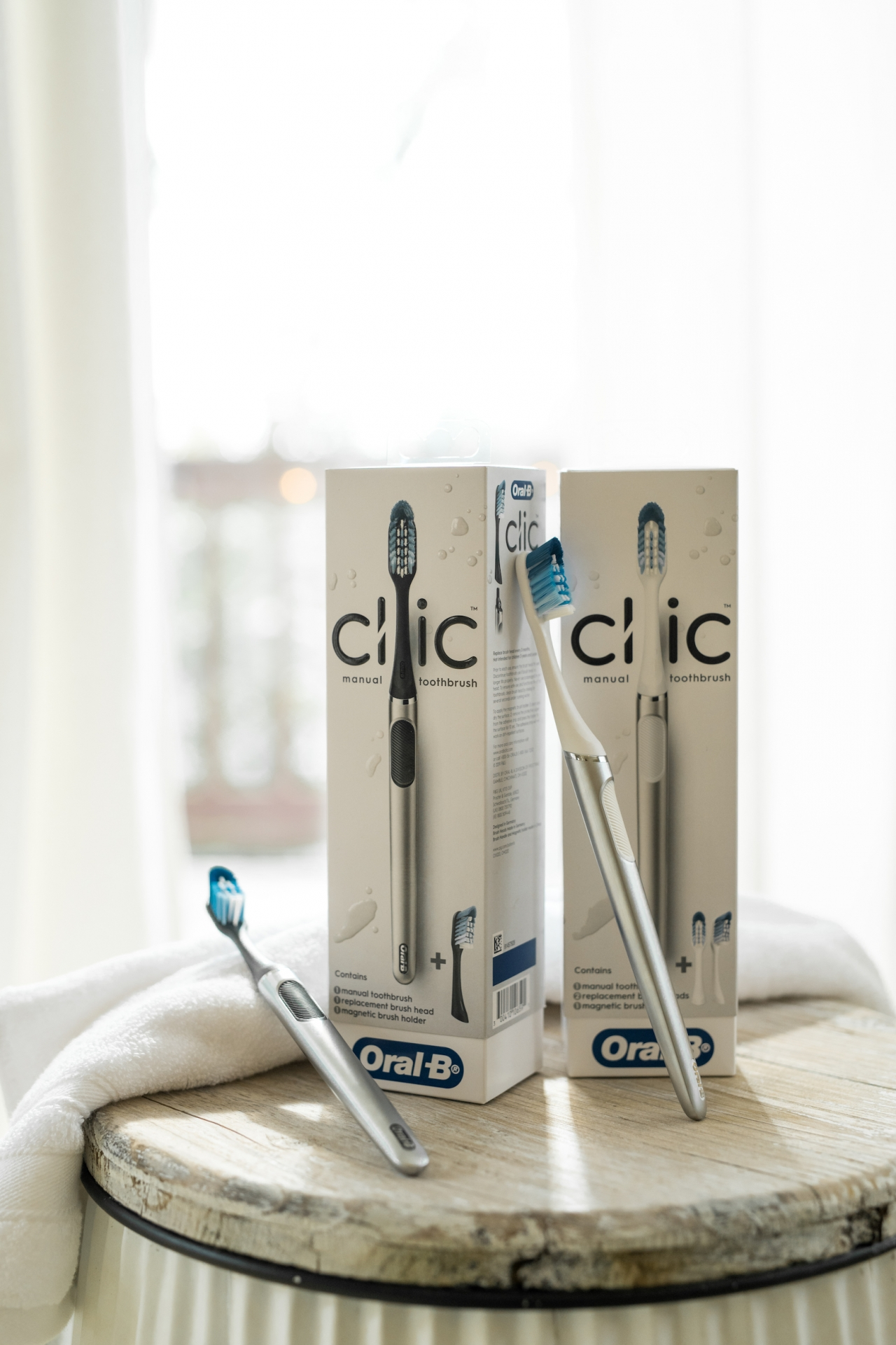 Oral-B Clic brushes