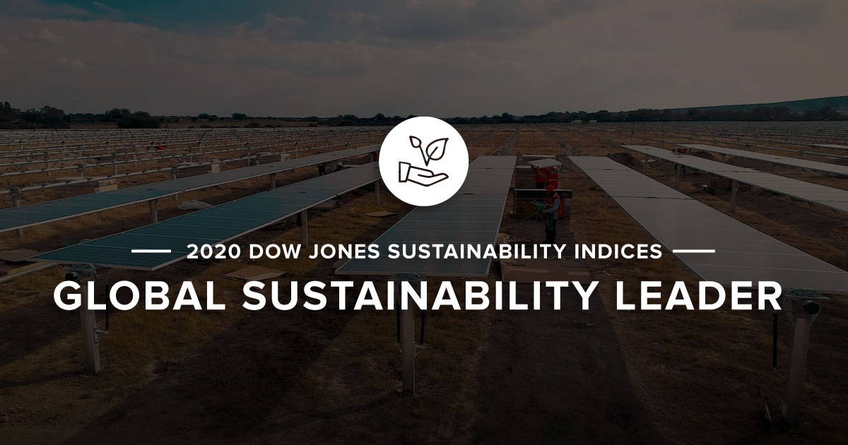 DJSI Global Sustainability Leader