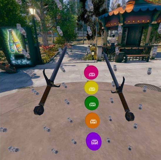 screenshot of a VR game