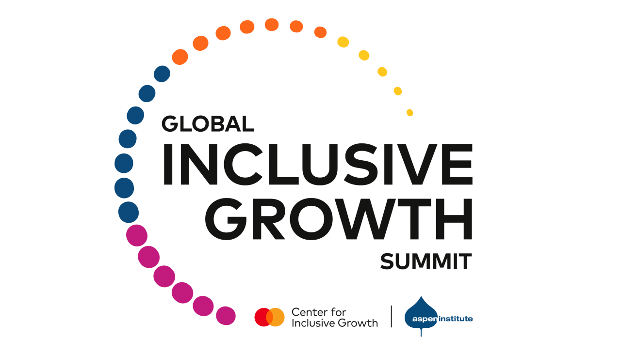 Image reads: Global Inclusive growth summit