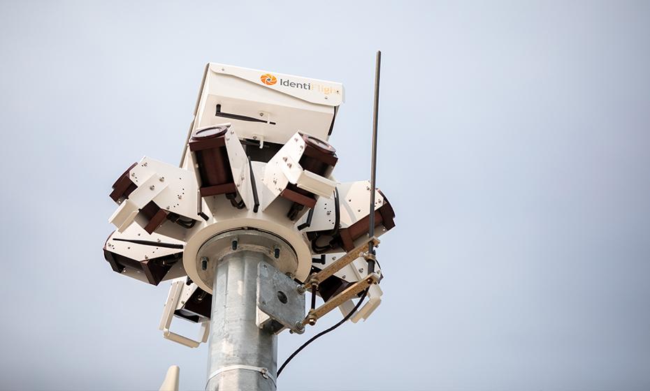 IdentiFlight's cameras