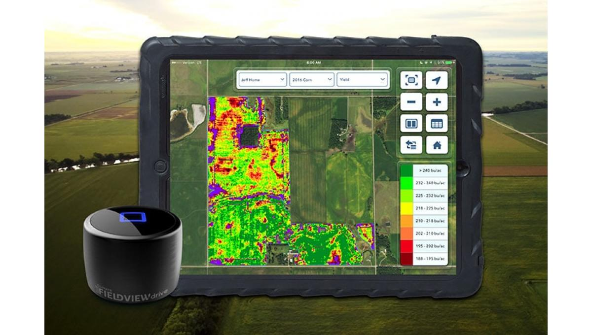 New digital technologies are helping to improve on-farm decision-making like Climate FieldView, which helps farmers manage the variability within their fields and apply resources more efficiently