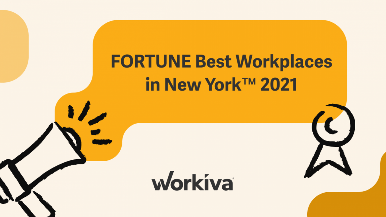 Fortune Best Places to Work in New York poster