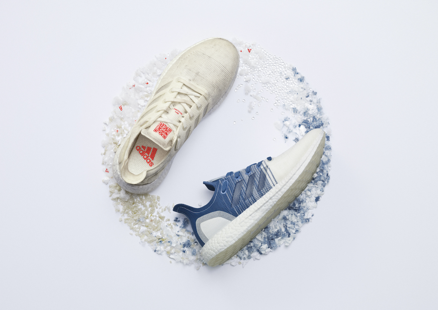 Adidas recyclable circular shoe sustainable materials