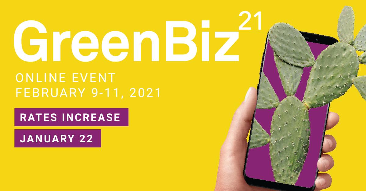 GreenBiz 21 banner image