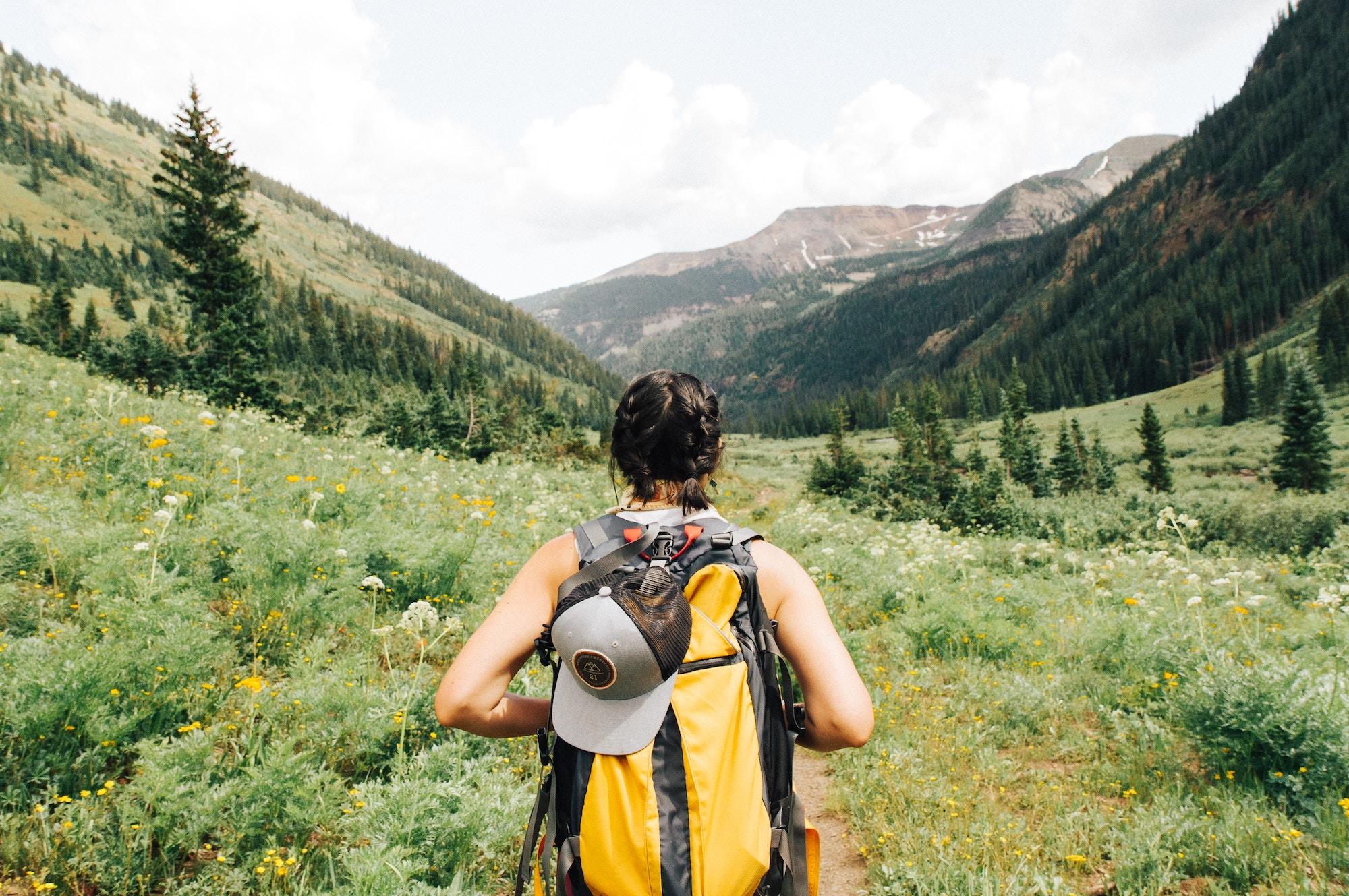 hiking national parks