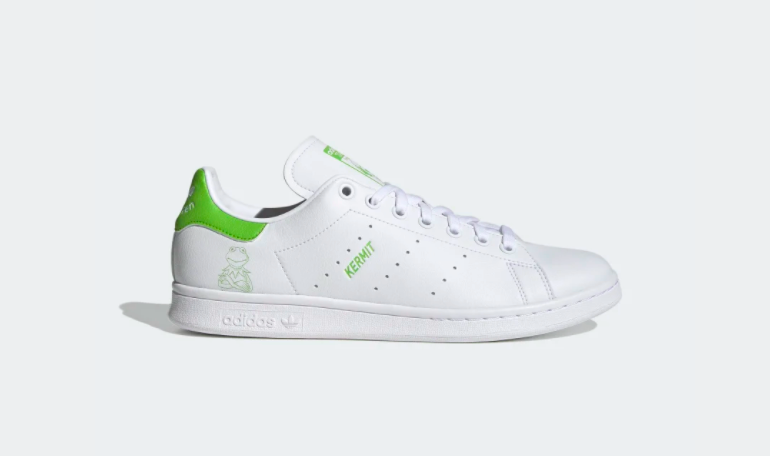 Stan Smith meets Kermit the frog