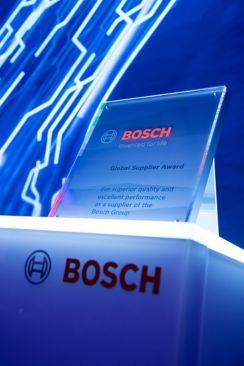BOSCH Global supplier award
