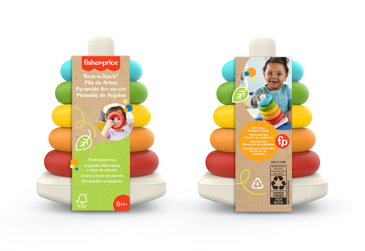 Mattel sustainable rack a stack