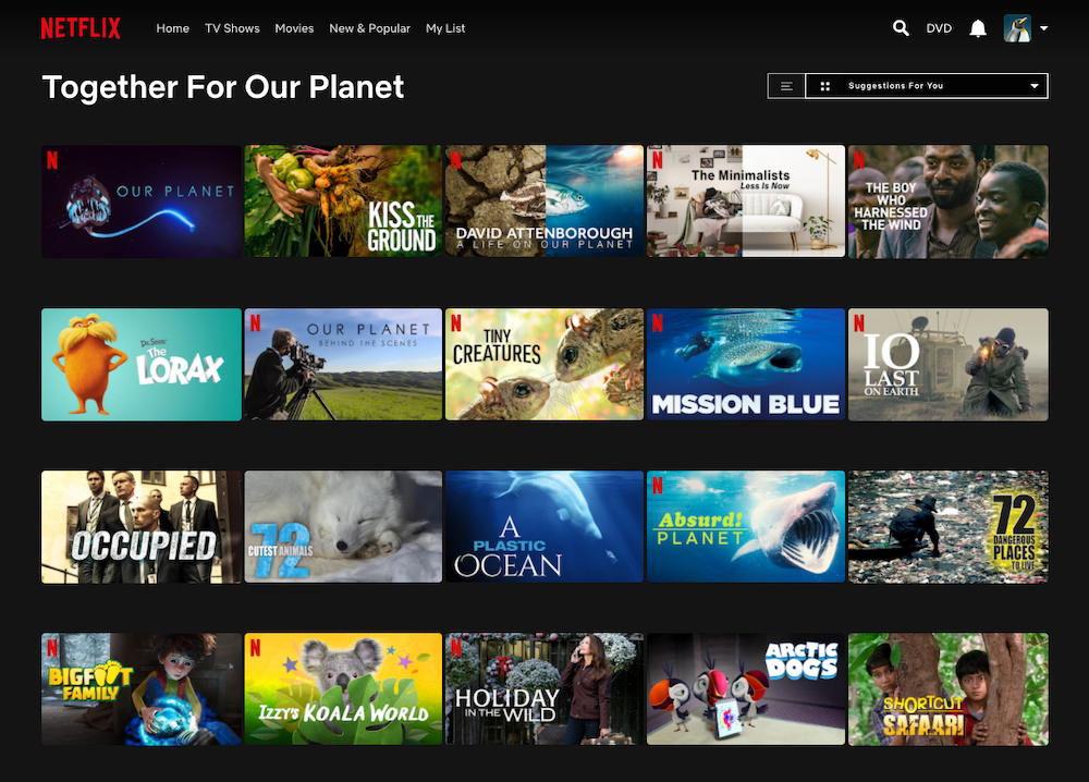netflix together for our planet COP26
