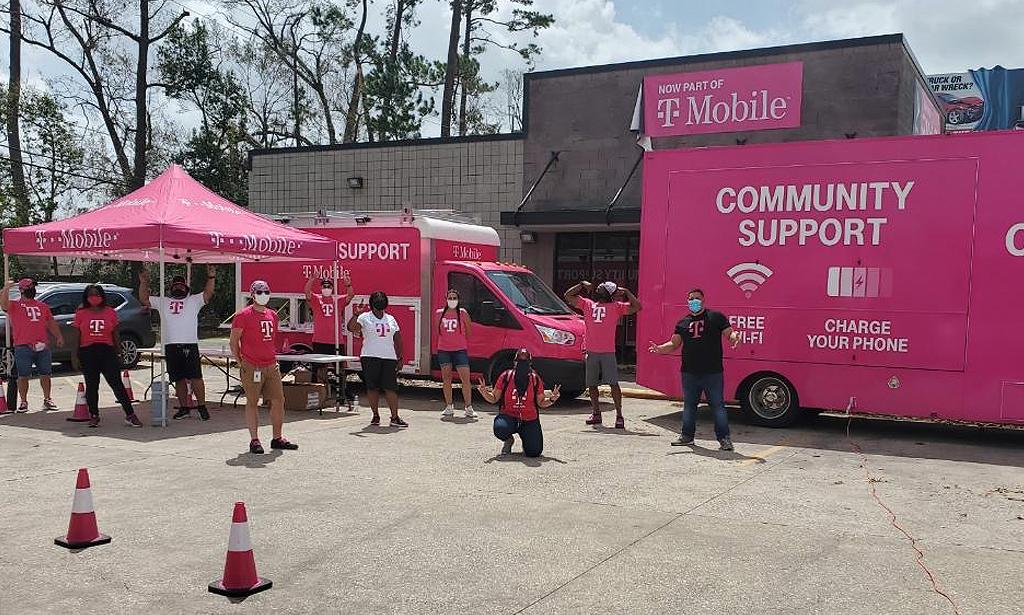T-Mobile pop up