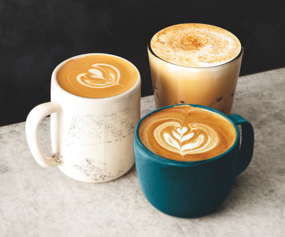 new plant-based foods vegan horchata latte at Peet's Coffee