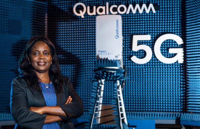 Dr. Lola Awoniyi-Oteri, Principal Systems Engineer at Qualcomm Technologies