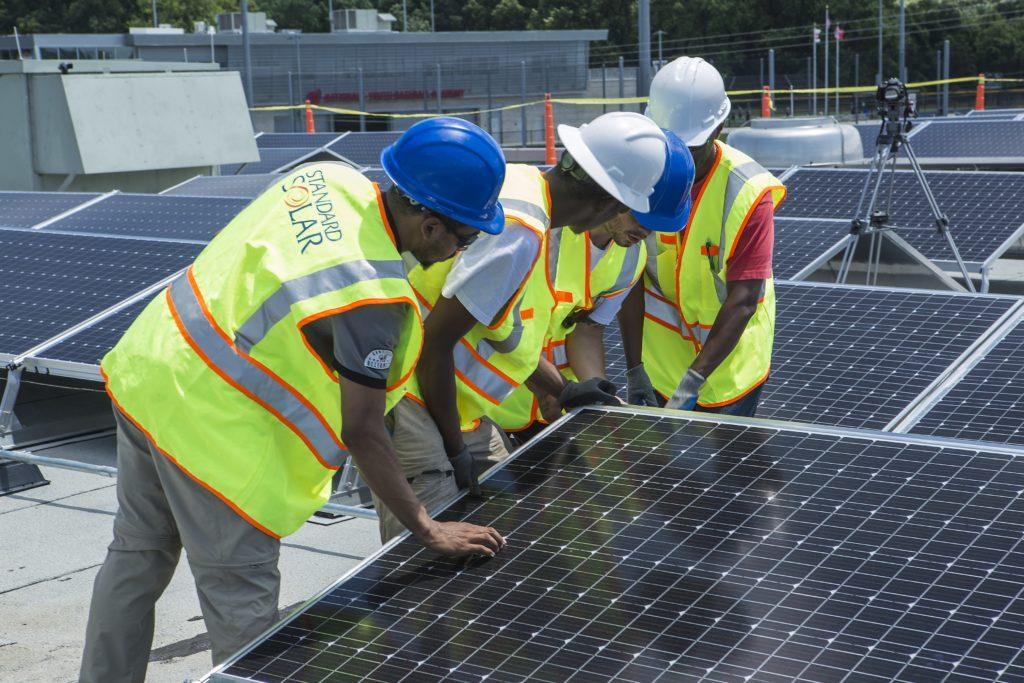 solar workers diversity