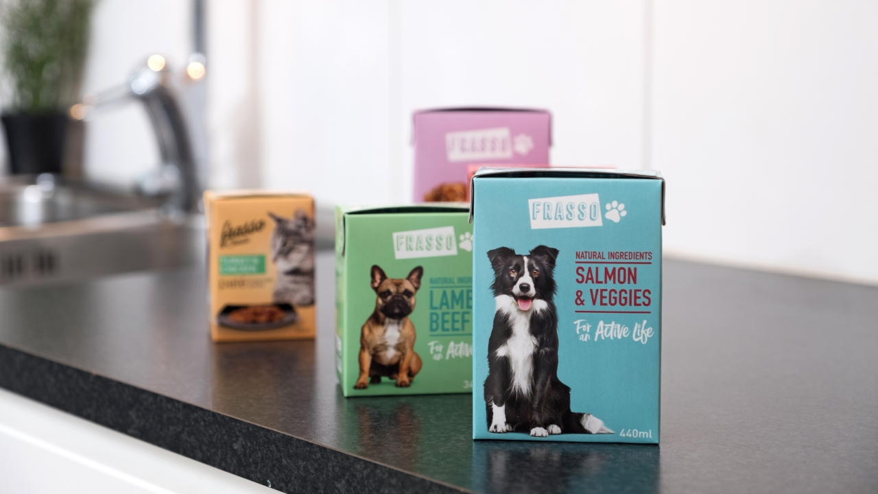 Dog food packages