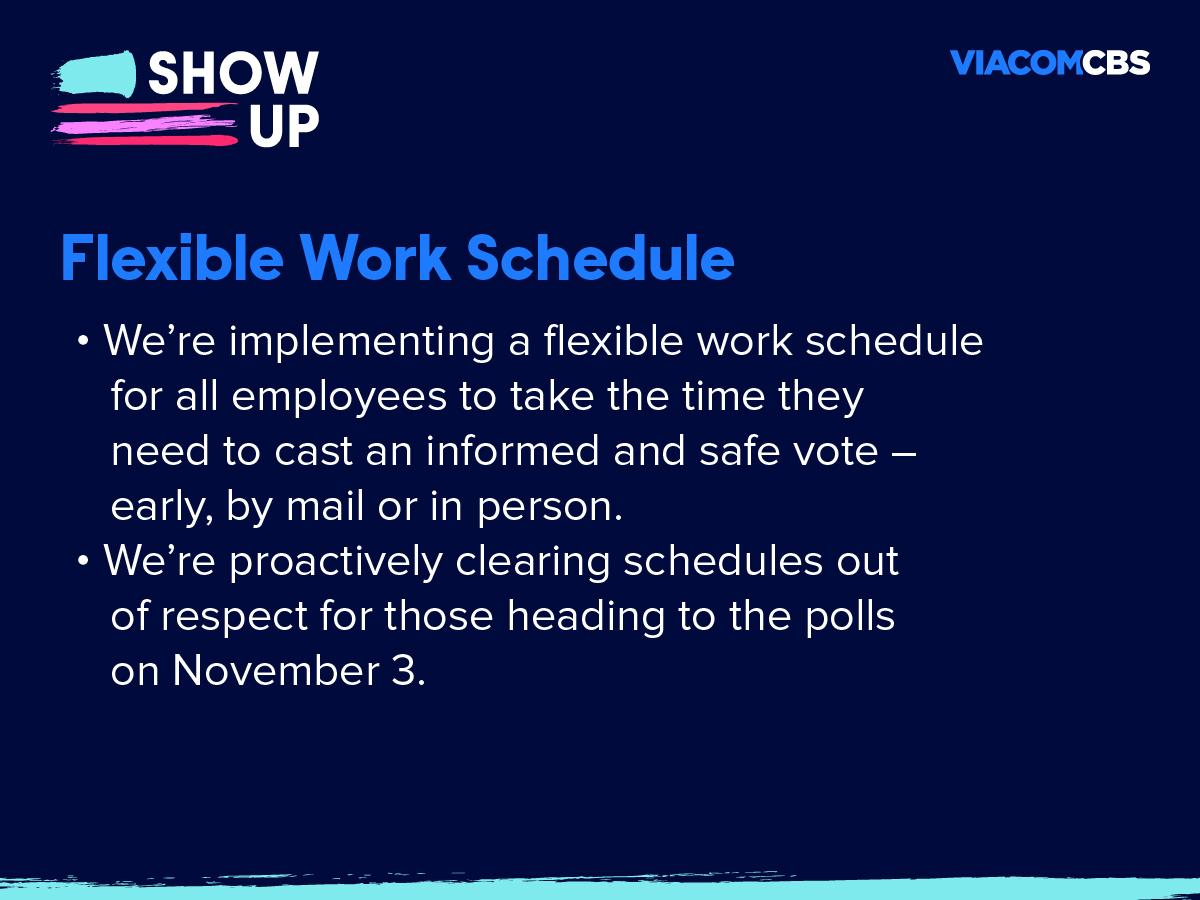 Flexible-work schedule