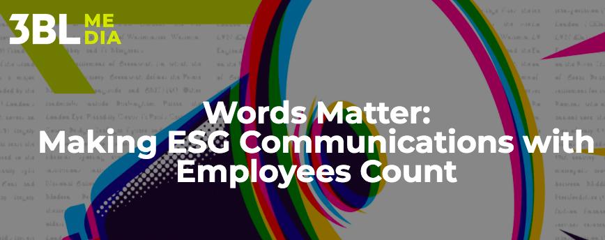 Words Matter ESG e-guide