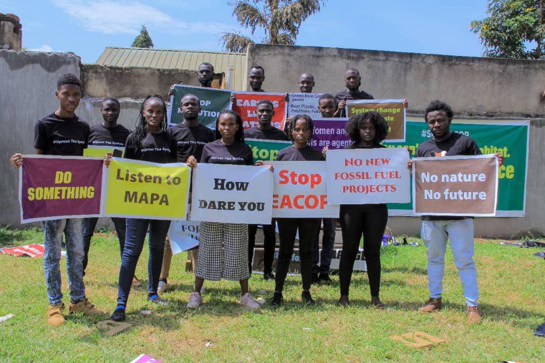 youth activists global climate strike Uganda