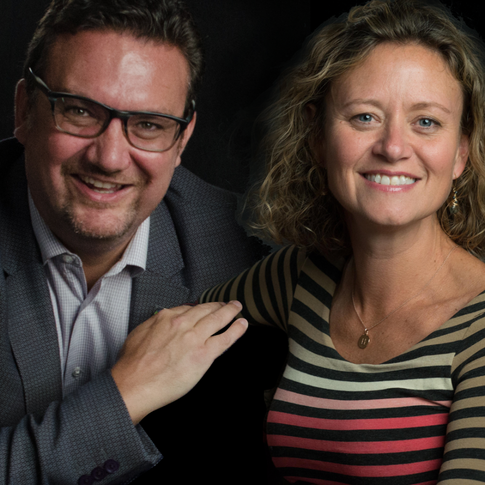Heidi Schoeneck and Phil White headshot