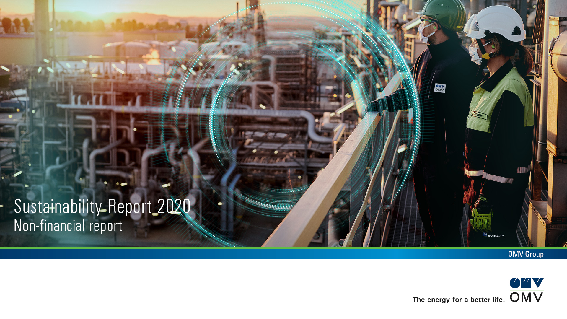 OMV Sustainability Report Cover